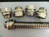 包塑软管连接器,铜镀镍金属接头,六方螺母黄铜材质接头,福莱通供应