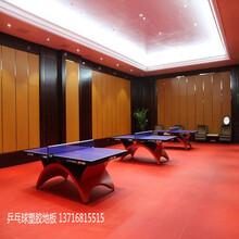 乒乓球地板胶价格乒乓球地胶施工图片