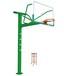 方管固定透明板篮球架篮球架篮球场地施工