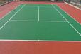 承建硅PU网球场地坪工程硅PU网球场
