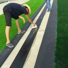 足球场人造草坪价格、50mm高运动草坪、人造草坪施工工艺图片