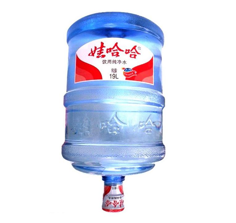 金松水业哇哈哈纯净水桶装水深圳送水18.9l