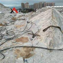 液壓分裂棒串連破石頭工具