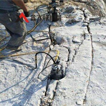 巖石分裂棒開采工藝