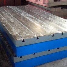 泽宏铸铁拼接平板、焊接平台图片
