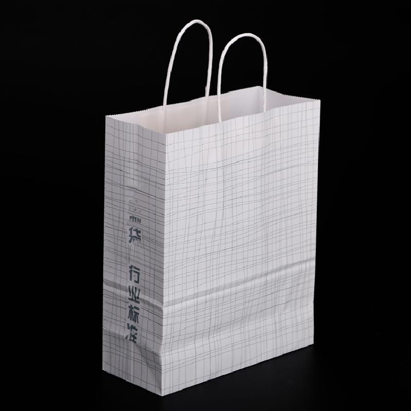批发卡通饰品手提袋子针织衫牛皮包装袋专属定制创意个性手拎袋