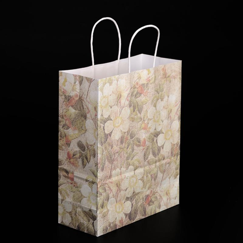 手提纸袋子的折法图解