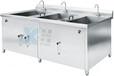 双杠洗菜机、清洗机,洗菜机,厨房设备,不锈钢洗菜机,果蔬清洗机
