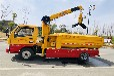 遼寧阜新下水管道清淤車上藍牌