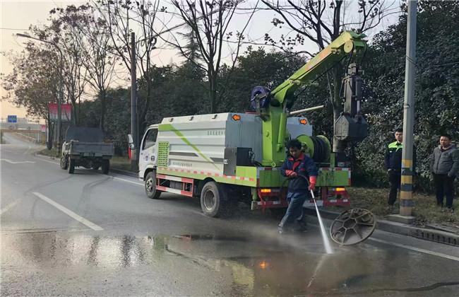 安徽阜阳太和沉淀池管道疏通车直供厂家