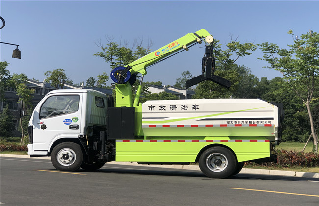 山东日照管道疏通高压清洗车生产厂家