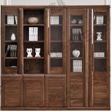 供应书柜实木书柜书房家具环保家具上海申购家具