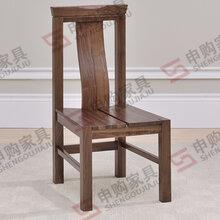 供应餐椅实木餐椅黑胡桃实木餐椅环保餐椅厂家