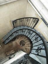 北京旋轉樓梯北京中柱樓梯北京鋼結構樓梯制作圖片