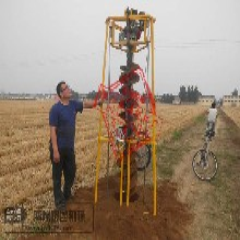 种树地钻机电线杆挖洞机