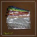 古信透明PVC双层夹网拉链袋A5单据袋文件袋资料袋可定制LOGO