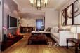 洛阳美巢装饰开元壹号99平两室两厅新中式风格装修效果图