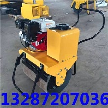 生产手扶式单钢轮压路机庆安牌振动压路机厂家