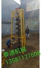 电线杆钻孔,建筑打桩钻孔,光伏发电钻孔,植树钻孔,苗木种植钻孔图片