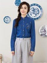 国内一二线中高档折扣女装羊剪绒批发/韩版大衣图片