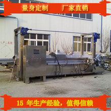电加热牛肉干连续油炸机的设计原理及功能应用图片