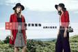 六安春装韩版风衣外套/华丹尼朗文斯汀厂家直销大码女装