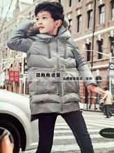 力果品牌童装时尚羽绒服一手货源/吉林大型童装批发市场
