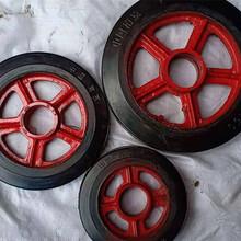 橡胶脚轮,12寸橡胶万向脚轮,实心橡胶脚轮厂家定制图片