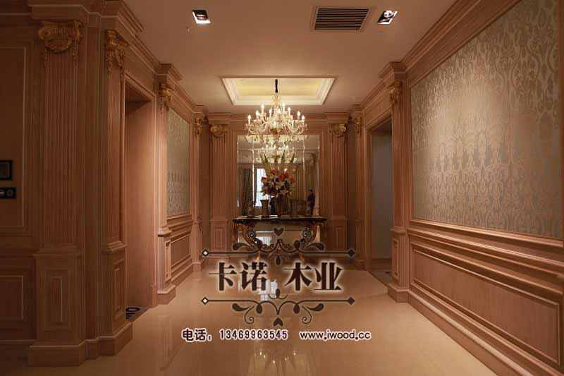 简欧风格和古典欧式风格实木护墙板鉴赏