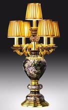 国家级非物质文化遗产景泰蓝灯饰《大富贵》景泰蓝台灯