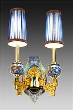 供应张向东大师景泰蓝灯饰作品系列之《凤凰传奇》景泰蓝壁灯