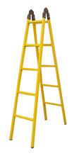现货供应方管绝缘梯人字梯关节梯单直梯质量放心图片