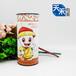 铁皮石斛花茶粉专用牛皮纸罐密封防潮定做茶叶包装纸罐定制包装