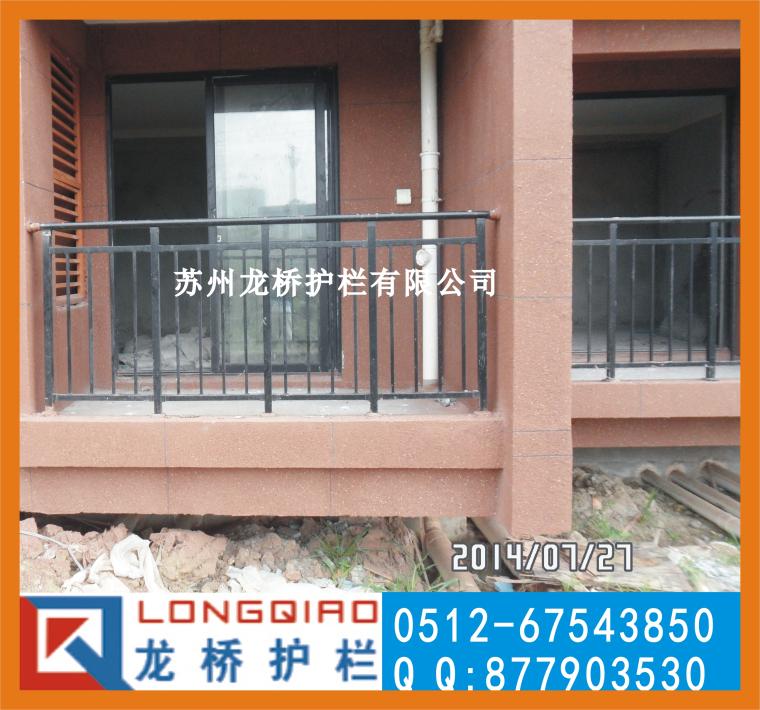 上海阳台围栏 上海高层阳台护栏 阳台护栏价格龙桥护栏厂家直销