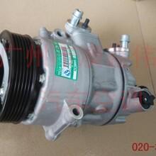 大众POLO波罗1.4原厂上海三电贝洱PXE13汽车空调泵压缩机冷气泵图片
