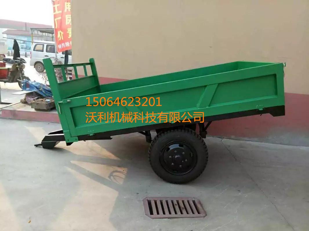 拖拉机拖斗农用拖车液压自卸车图片