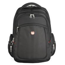 厂家专业定做双肩包时尚商务电脑背包男女书包休闲旅行包图片