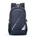 双肩包简约背包初中生书包防水休闲旅行包