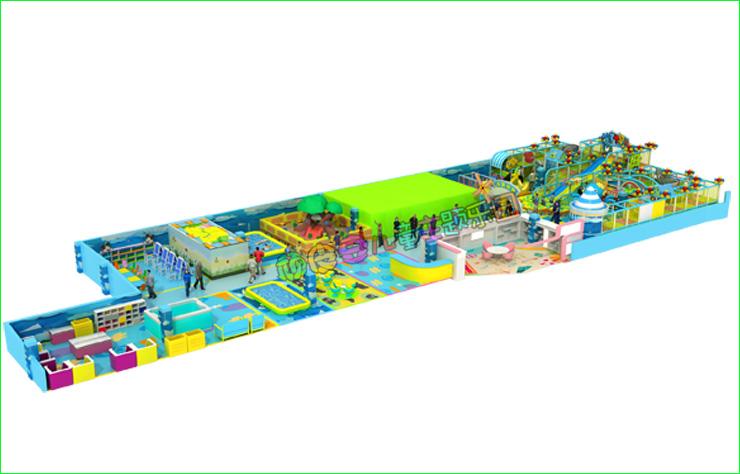 郑州室内淘气堡儿童乐园游乐设施