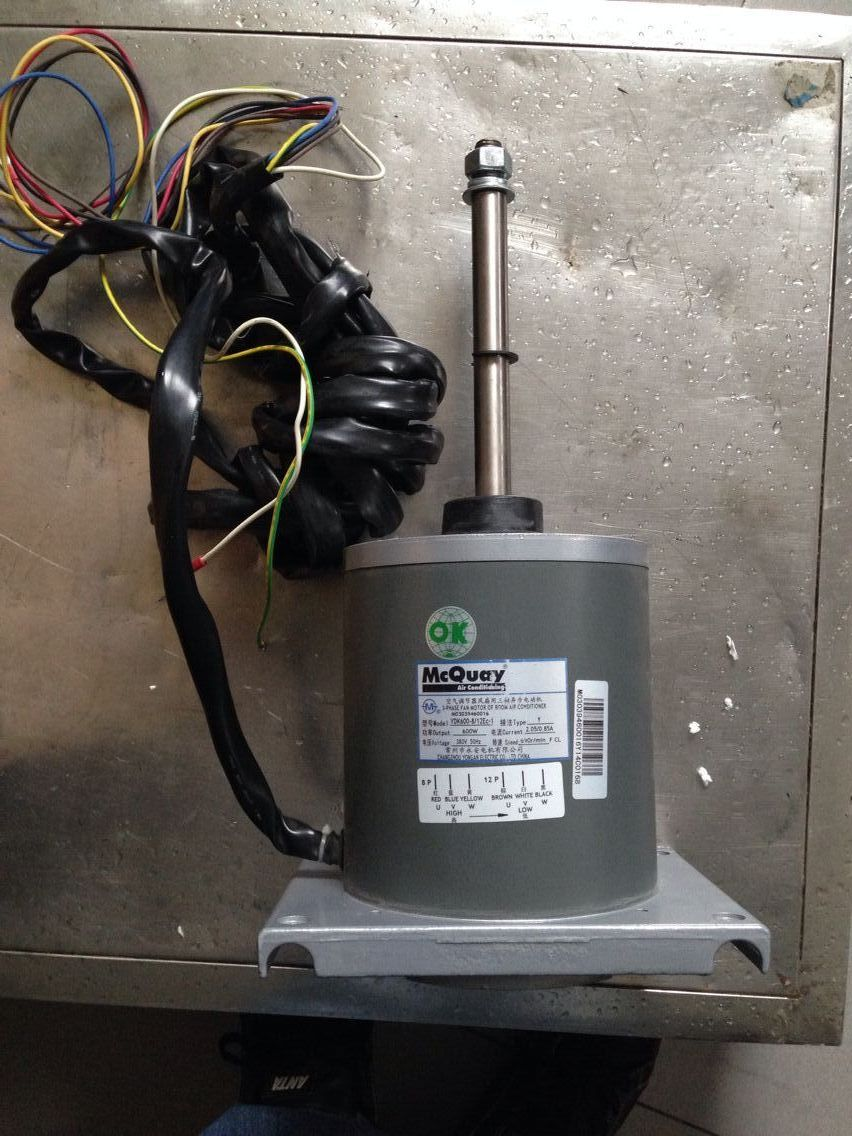 空调风扇电机4线接线图解