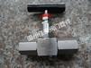 精品JJM1-160P,M201.5,DN5压力表截止阀,压力表针型阀,仪表针型阀