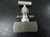 定做加工304SS,1/2NPT不锈钢非标针型截止阀,非标仪表阀门