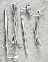 厂家电镀3.5千瓦L型钛电加热管/耐腐蚀铁氟龙加热器图片