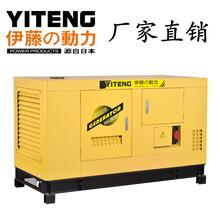 备用电源10KW汽油发电机组图片