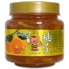 有机蜂场天然新鲜蜂蜜柚子茶免费试用图片