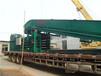 新型垃圾打包机南京200毫米厚槽钢工作记录