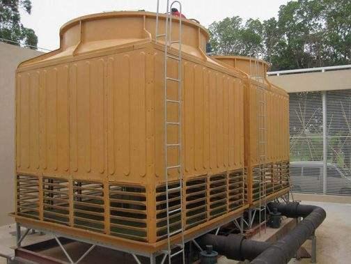 供应江苏盐城商场降温冷却塔500t逆流冷却水塔500吨方形凉水塔