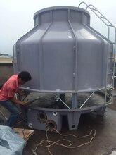 平果县冷却塔铝业设备降温冷却水塔风度150T圆形冷水塔120吨凉水塔