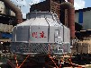 湖北冷卻塔孝感金屬制品加工定制降溫冷卻水塔風度500T圓形冷水塔玻璃鋼循環水涼水塔