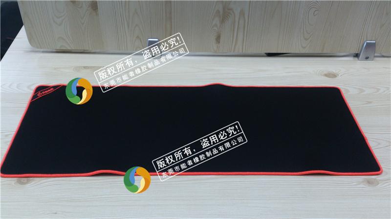 雷蛇鼠标垫鼠标垫粗面和细面大尺寸游戏鼠标垫热转印广告促销礼品布面桌布键盘鼠标垫